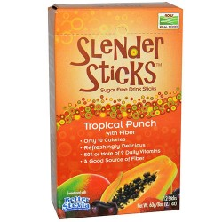 Now foods Tropical Punch Slender Sticks - 12 ea