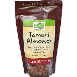 Now foods  tamari almonds - 7 oz