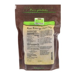 Nowfoods Raw energy nut mix, Unsalted - 16 oz