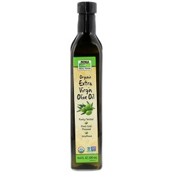 Now foods  organic extra virgin olive oil -  16.9  oz