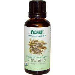 Now foods organic essential oils, Citronella - 1 oz