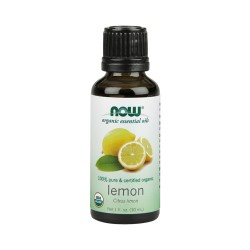 Nowfoods organic essential oils, Lemon - 1 oz
