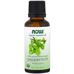 Now foods organic essential oils, peppermint - 1 oz