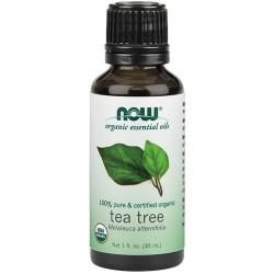 Nowfoods organic essential oils tea tree - 1 oz
