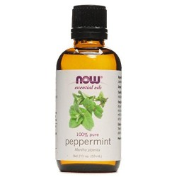Now Foods 100 percent pure essential peppermint oil - 2 oz