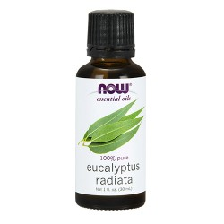 Now Foods 100 percent pure eucalyptus radiata oil - 1 oz