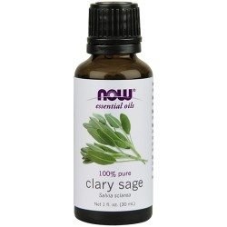 Now Foods 100 percent pure clary sage oil - 1 oz