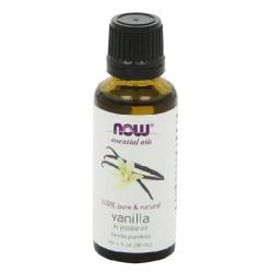 Now Foods 100 percnt Pure and Natural Vanilla in Jojoba Oil, Liquid - 1 oz