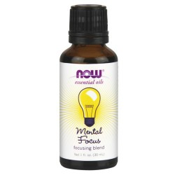 NOW Foods Mental Focus Essential Oil Blend - 1 oz
