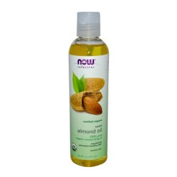 Now Foods solutions organic sweet almond oil - 8 oz
