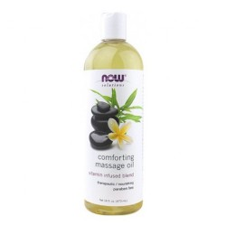 Now Foods solutions comforting massage oil - 16 oz