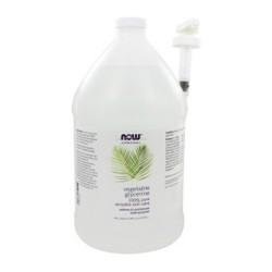 Now Foods solutions vegetable glycerine - 128 oz