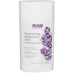 Now foods long-lasting deodorant stick - 2.2 oz