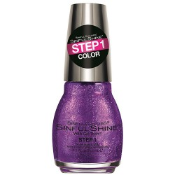 Sinful shine nail color - 3 ea