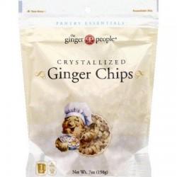 Ginger People Ginger Chips - 12 ea,7 pack