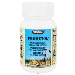 Viobin - prometol wheat germ oil 170 mg - 100 Capsules