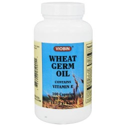Viobin wheat germ oil with vitamin E 1.15 gm  - 100 capsules