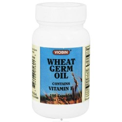 Viobin - wheat germ oil with vitamin E 340 mg - 100 Capsules