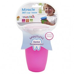 Munchkin inc. miracle spoutless sippy cup - 10 oz, 2 pack