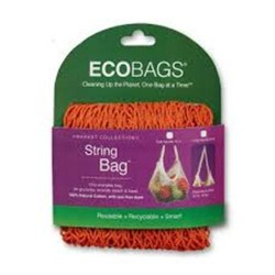 Eco bags market collection string bags long handle chili - 1 ea