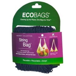 Eco Bags Market Collection String Bags Long Handle, Cranberry - 1 ea