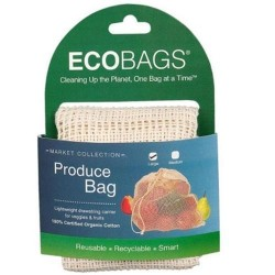 Eco Bags Market Collection Organic Net Drawstring Bag , Large - 1 ea
