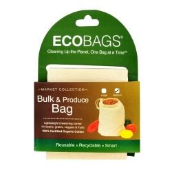 ECOBAGS Market Collection Organic Cloth Bulk and Produce Bag, Medium - 1 ea