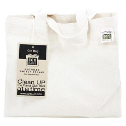 Eco bags products frontier natural products gift bag -1 ea
