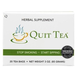 Quit tea herbal stop smoking aid - 20 tea bags