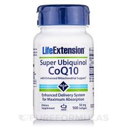 LifeExtension super ubiquinol 50 mg softgels - 100 ea
