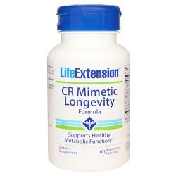 LifeExtension CR mimetic longevity vegetarian capsules - 60 ea
