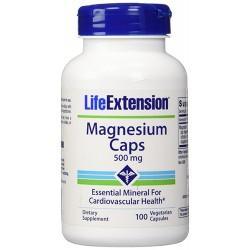 LifeExtension Magnesium 500 mg vegetarian capsules - 90 ea
