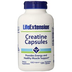 LifeExtension Creatine healthy muscle support, veg caps - 120 ea
