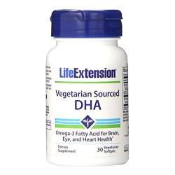 LifeExtension vegetarian sourced DHA veg softgels - 30 ea