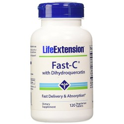 LifeExtension fast C with Dihydroquercetin vegetarian tablets - 120 ea