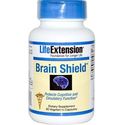 LifeExtension Brain shield vegetarian capsules - 60 ea
