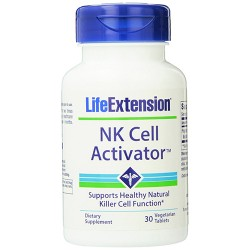 LifeExtension NK cell activator vegetarian tablets - 30 ea