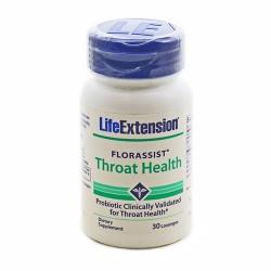 LifeExtension Florassist throat health lozenges - 30 ea