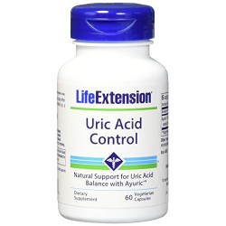 LifeExtension Uric acid control vegetarian capsules - 60 ea