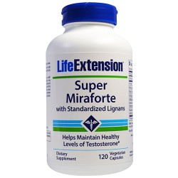 LifeExtension Super Miraforte Standardized Lignans - 120 Veg Capsules