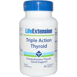 LifeExtension Triple action thyroid vegetarian capsules - 60 ea