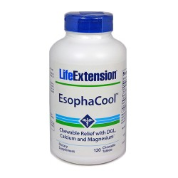 LifeExtension Esopha cool chewable tablets - 120 ea
