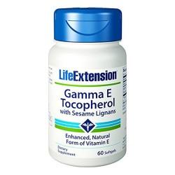 LifeExtension Gamma E Tocopherols and Tocotrienols VitaminE softgels - 60 ea