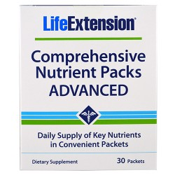LifeExtension Comprehensive nutrient packs - 30 ea