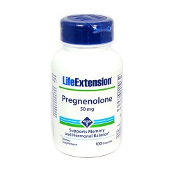 LifeExtension pregnenolone 50 mg - 100 ea