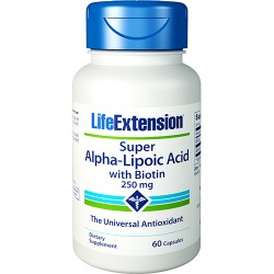 LifeExtension super Alpha lipoic acid capsules - 60 ea