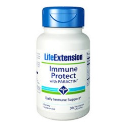 LifeExtension Immune protect with paractin vegetarian capsules - 30 ea