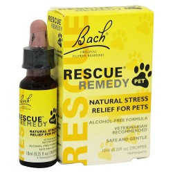 Bach Original Flower Remedies Rescue Remedy for Pets, 10 ml