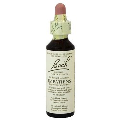Bach original flower essences for naturally occurring nervous tension, Impatiens - 0.7 oz