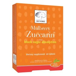 New nordic mulberry zuccarin tablets - 60 ea